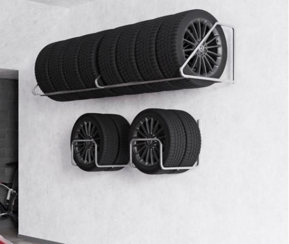 Regále na pneumatiky