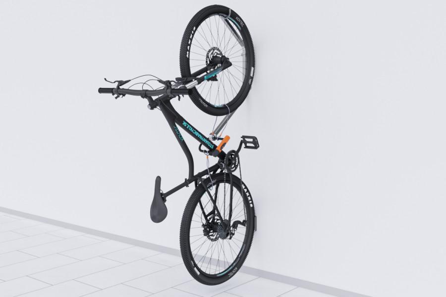 Nastenný držiak na bicykel HOOK