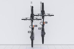 Nástenný držiak na dva bicykle, HOOK Pozink