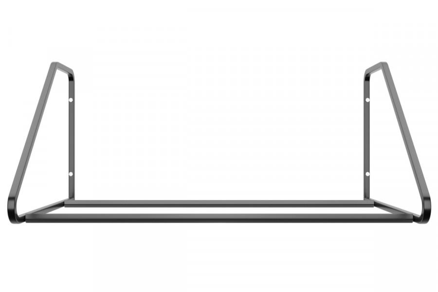 Držiak na pneumatiky na stenu, 4 miestny, pozinkovany. Držiaky a regále do garáže z našej dienne vám zorganizujú váš priestor.  Tento nástenný držiak je určený pre uskladnenie 4 pneumatík s diskami. Na výber máte rôzne šírky polic 94 cm a 105 cm. Ak máte pneumatiky do šírky 235 mm postačuje vám držiak pneumatík s policou 94 cm. Ak by ste chcel väčší úložný priestor pre vaše pneumatiky bude pre vás ideálný držiak s policou 105 cm.