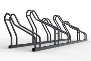 stojan na 5 bicyklov ALFA MAXI do úzkych priestorov, farebný