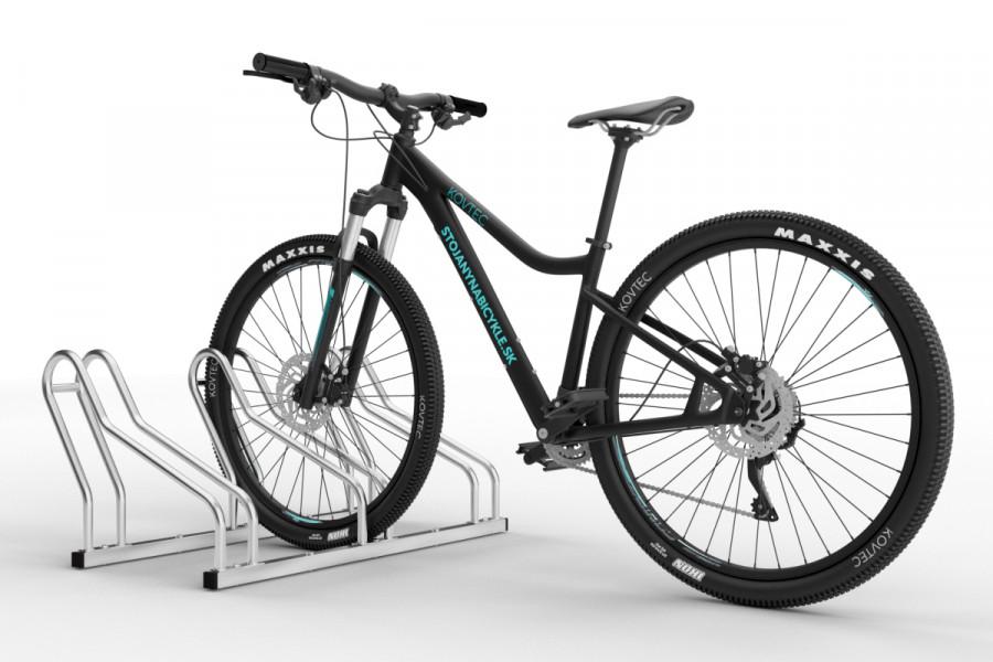 Stojan na uskladnenie bicyklov ALFA 3 miestny pozinkovaný.