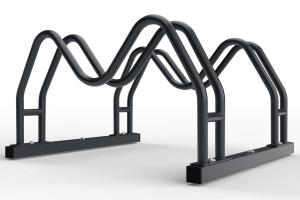 Obojstranný stojan na 2 bicykle MEGA, farebný